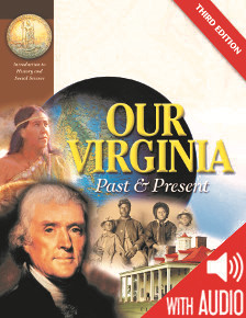SOCIAL STUDIES: Our Virginia: Past & Present Virgnia Studies